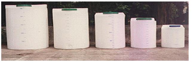 Doseer watertanks