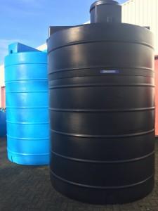 Verschillende soorten watertanks